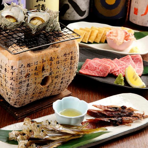 【HANARE限定】季節のコース(竹) 5,000円(税込)