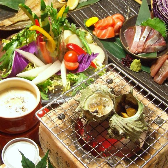 新年会【120分飲み放題】旬味旬菜コース 6,300円(税込)